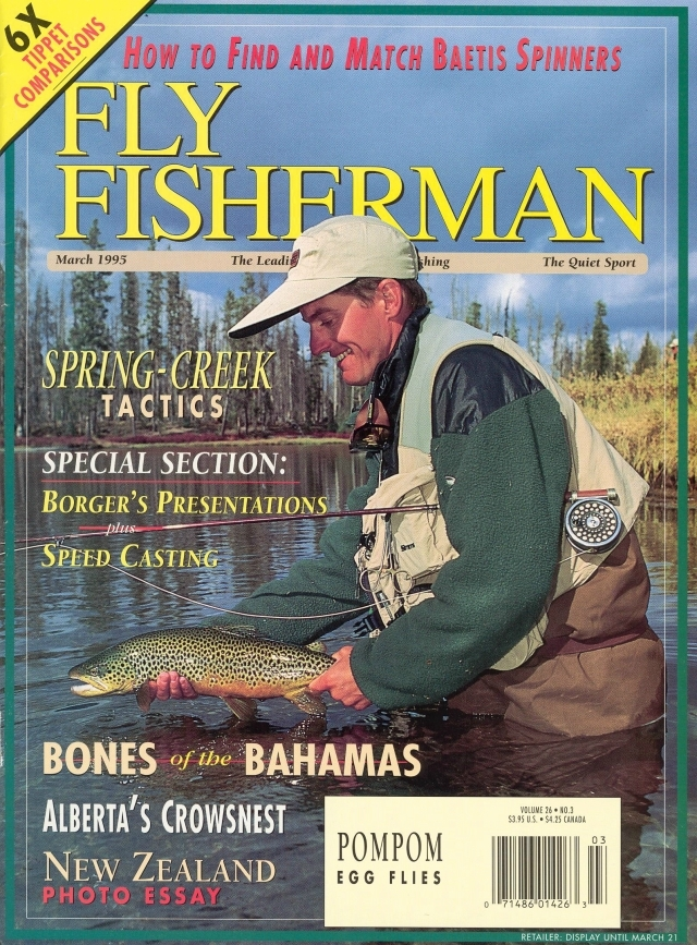 Vintage photos jeff currier for Fly fishing magazine