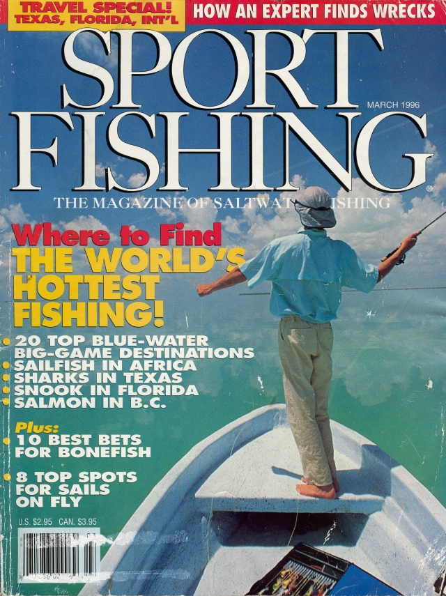 Vintage photos jeff currier for Sport fishing magazine