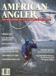 American Angler, Jeff's photo of his Dad, December 1995