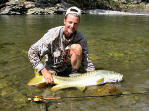 jeff currier golden mahseer india