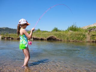 Kids and fly fishing jeff currier for Fly fishing salt lake city
