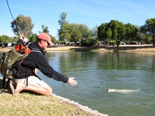 Carp fishing in phoenix jeff currier for Fishing in phoenix arizona