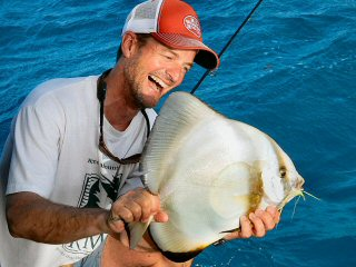flyfishing Sudan Spade Fish Jeff Currier Adventures