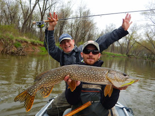 Fly fishing in ohio jeff currier for Muskie fishing ohio