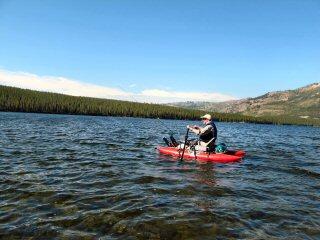Heart lake day 3 chillin with joe burke jeff currier for Burke lake fishing